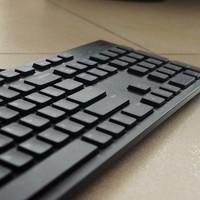 开了键盘的倒车—新入DELL 戴尔 静音巧克力键盘