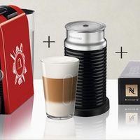 #晒单大赛# 双十一入手NESPRESSO 奈斯派索 Essenza Mini D30 组合 胶囊咖啡机套装