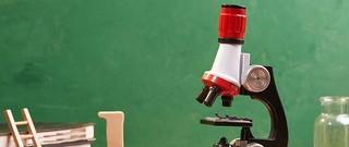 图书馆猿の蓝宙(LANDZO)高倍儿童显微镜 简单晒