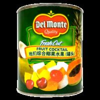 地扪杂果罐头850gDelmonte糖水杂果罐头什锦水果罐头甜点烘焙原料
