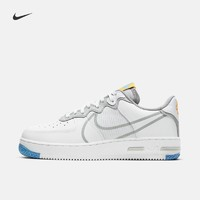 Nike耐克官方AIR FORCE 1 REACT男子运动鞋新品夏季小白鞋CT1020