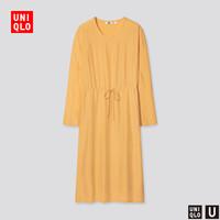 优衣库【设计师合作款】女装花式连衣裙(长袖)437137UNIQLO