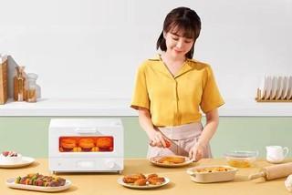 米家智能蒸汽小烤箱开启众筹:12L容积 269元