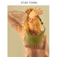 STARTOWN2020新款水桶包时尚简约个性手提包小众原创设计斜挎女包