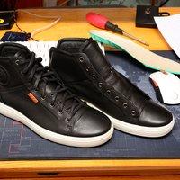爱步 SOFT 7 430024 男士休闲鞋使用感受(透气性|舒适度)