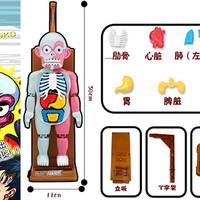 """""""惊心动魄"""",人体模型玩具晒单。"""
