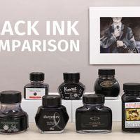 市面上常见的黑色钢笔墨水对比使用指南