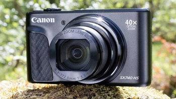 佳能发布了一款40倍光学变焦、4K视频拍摄的卡片机PowerShot SX740 HS