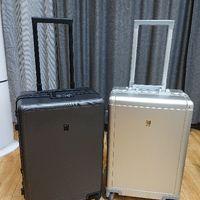 锤科LEVEL8登机箱PC材质版开箱以及与铝镁合金材质版简单对比