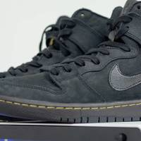 开箱+DIY:NIKE ZOOM DUNK HIGH  SB