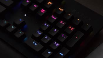 跟着大妈学剁手 篇十一:Razer 雷蛇 猎魂光蛛光轴电竞游戏机械键盘开箱体验