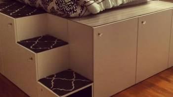 云装修 篇六:睡觉储物两相宜,宜家黑客教你睡在柜子上