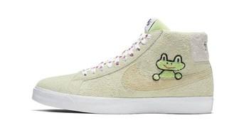 萌趣可爱 都是春天的味道:Nike SB 推 Blazer Mid 联名鞋款