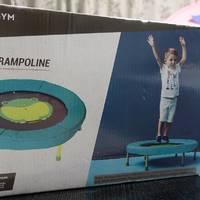 孩子的六一节礼物:迪卡侬儿童蹦床组装开箱