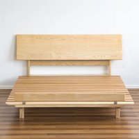 60㎡小LOFT软装之路——实木床选购