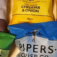 站在金字塔尖的薯片风笛手Pipers薯片的测评
