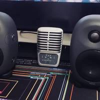 【桌面3寸音箱对比】HiVi惠威X3  VS  IK multimedia iloud