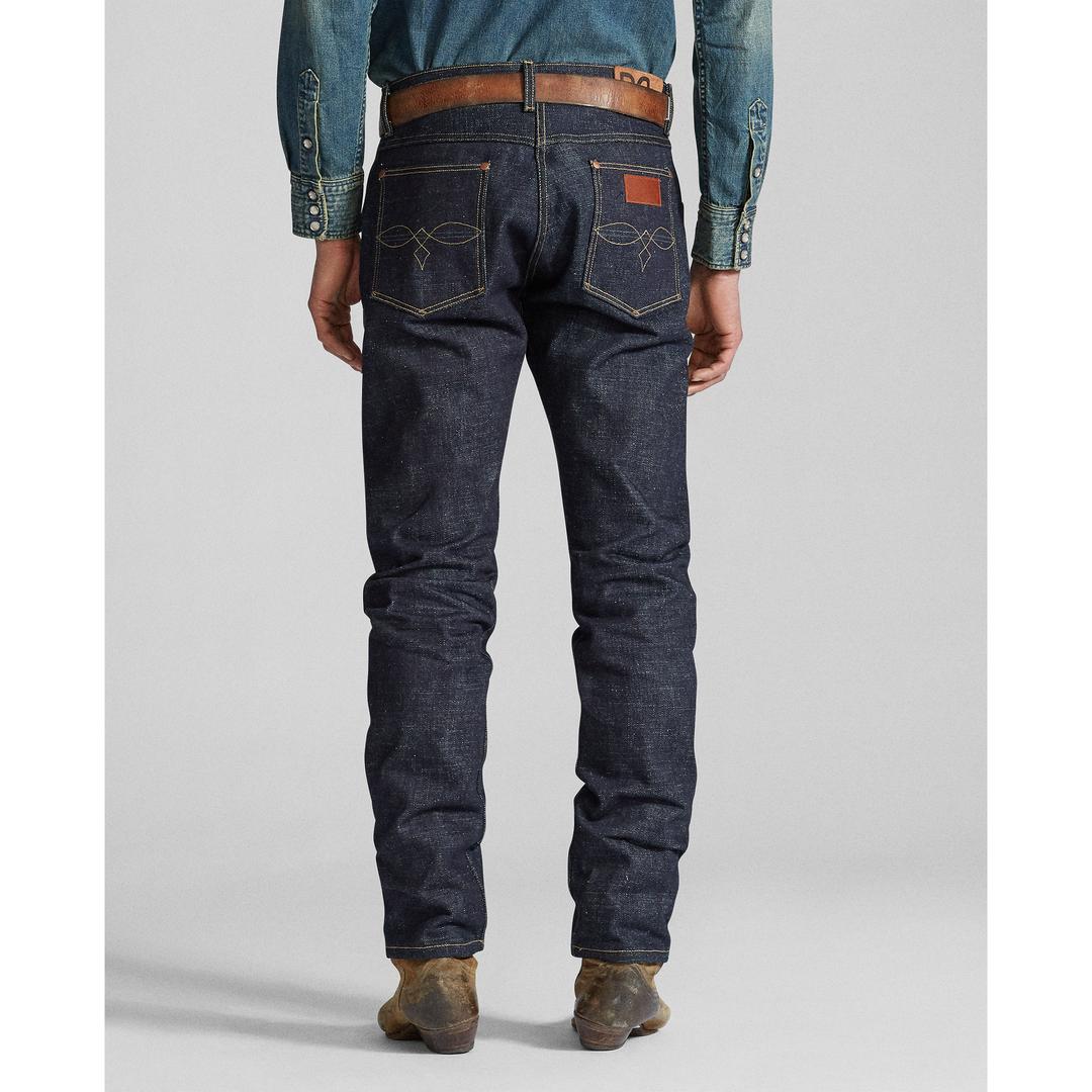 限量300条:RRL推出致敬 Wrangler 1950S Blue Bell 原色牛仔裤