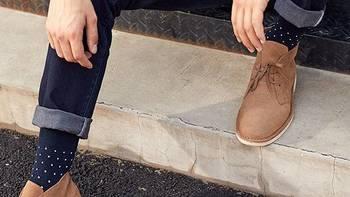穷人的剁手清单 篇五:终于拔草沙漠靴——INTERIGHT男式反绒沙漠靴