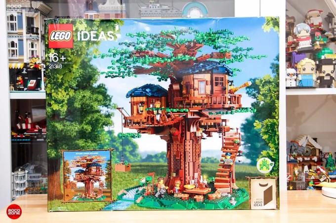 让你想要回归自然,乐高IDEAS新品21318树屋评测!