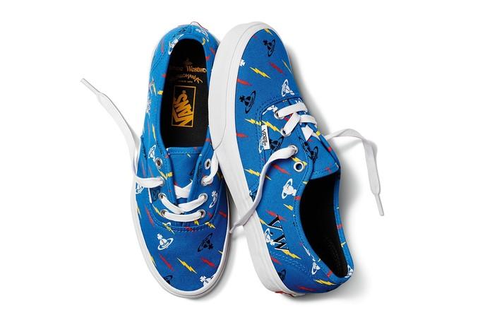 十字土星滑板鞋:VIVIENNE WESTWOOD x VANS 联名系列