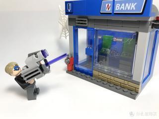 乐高76082漫威蜘蛛侠ATM劫案之战