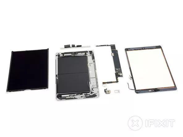iPad7拆解:内存增至3GB,维修不轻松