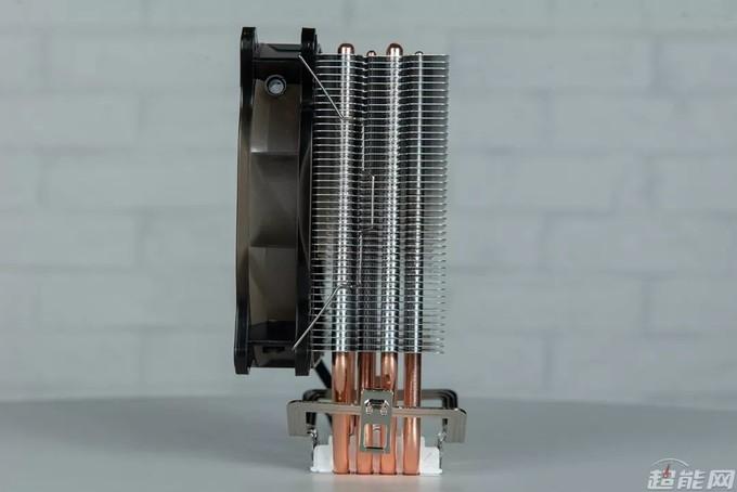 先马冰雪120散热器评测:四热管+压力扣具的新选择