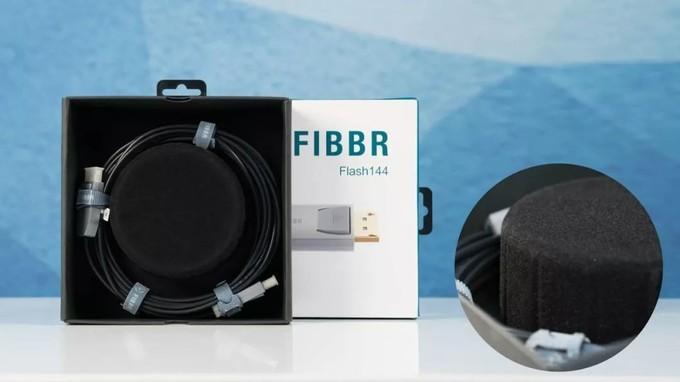 光的力量!FIBBRFlash144光纤DP线双十一好价