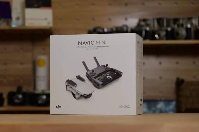 新一代入门甜品航拍器Mavic Mini尝鲜