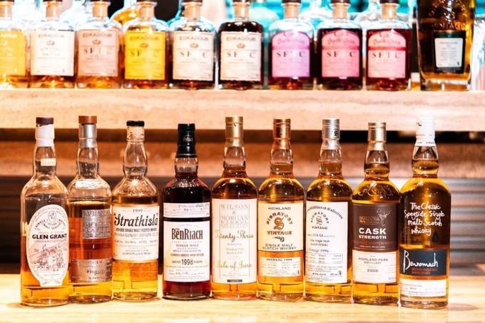 太古汇的五星级酒店里,藏着一间明星也爱打卡的WhiskyBar