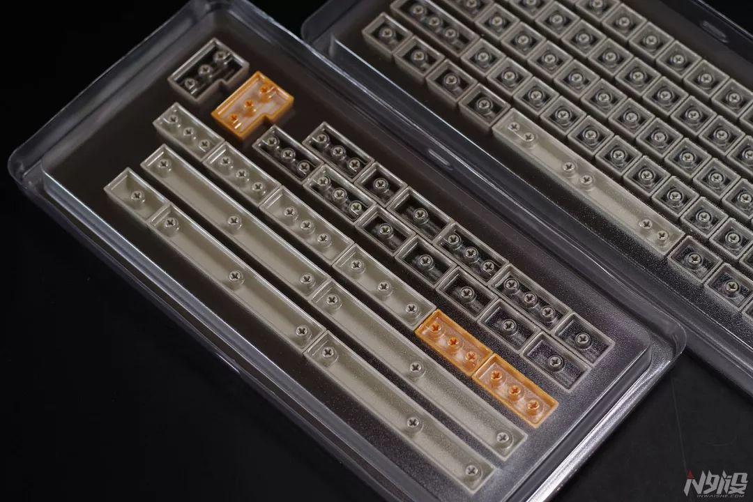 DOMIKEY二色成型SA高度159键大全套键帽简评