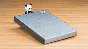 小身材有大容量:希捷新睿品系列2T移动硬盘体验