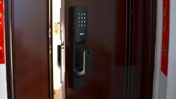 米家推拉式指纹锁:颜值与实力共存,6种开锁方式全家通用