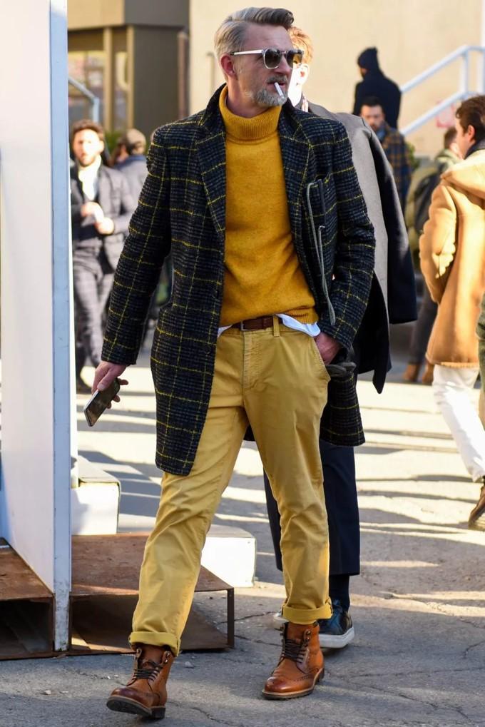 穿什么裤能秒变长腿绅男?看看hollywood-top的复古念想