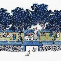 这位建筑师画出绝美中国庭院,足不出户的日子能住进这样的院子该有多好!