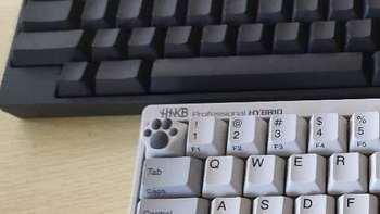 新款双模hhkb键盘hybridtypes对比老款hhkb BT蓝牙键盘