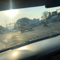 汽車擋風玻璃粘蚊子,最后選擇雨敵使用后到底有沒有效果
