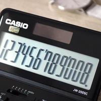 古风玩数码 篇七十:计算器也看颜值了,卡西欧JW-200SC计算器,税率汇率轻松算