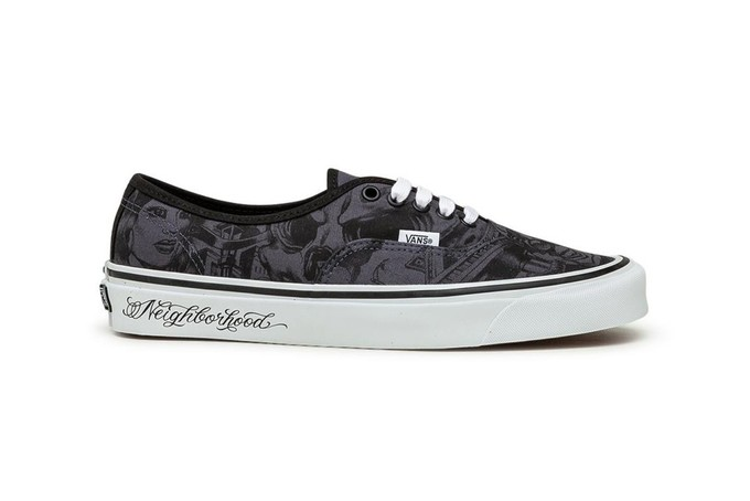 这情怀我认:VANS x NBHD x Mr. Cartoon三方联名Authentic和Old Skool
