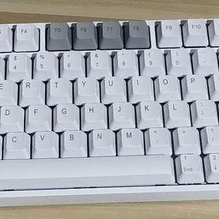 小鲸鱼78 移植罗技k270 改机械键盘实录