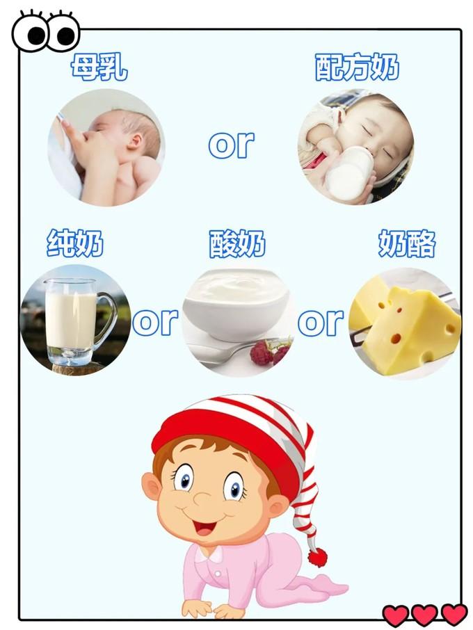 """注意了!适合0~6岁宝宝的乳制品只有这4种!有些""""乳""""最好不要喝!"""