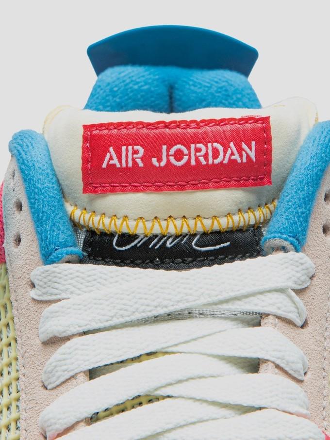 鞋舌居然还能这么玩 Union x AJ4 这设计属实惊了 月底发售准备好你的手速~
