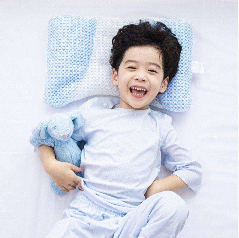 小米有品上新绘睡儿童可调软管枕,日本妈妈青睐的舒眠黑科技