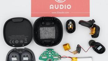 拆解报告:Baseus倍思 Encok WM01 真无线蓝牙耳机