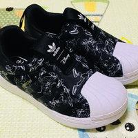 小妞衣橱 篇二十二:娃的第二双三叶草-阿迪达斯superstar贝壳鞋FW1989晒单
