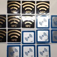 NFC标签?NFC碰碰贴?NFC一碰传?只要6块钱4个,嘿嘿~