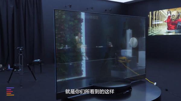 49999元小米透明电视首发体验:并不能两面观看