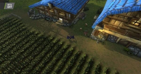 《魔兽世界:暗影国度》支持光追 游戏画质对比:睁大眼睛找不同