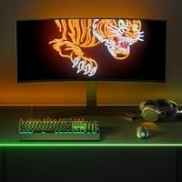 赛博朋克风:SteelSerie赛睿 发布QcK系列三款超大桌面鼠标垫